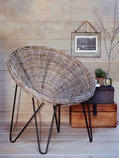 Rattan Cone Chair - Indoor Living