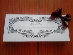Despre invitatii si altele: Card masa