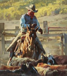 "JASON RICH ~ ""Working The Catch Pens"""