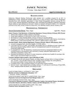 finance student resume example sample httpwwwjobresumewebsite