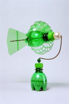 Green bottle windmill-2