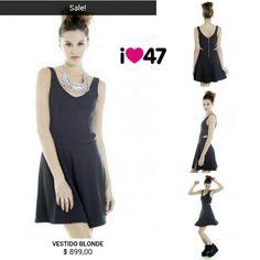 Vestido 47 street. Visitá http://www.47street.com.ar/store/vestidos.htm