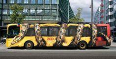 Copenhagen Zoo: Snake Bus