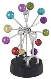 Wave Spinner Kinetic Mobile Electronic Desktop Gadget Toy Gift Decoration Item