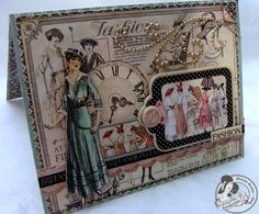 graphic 45 ladies diary | Ladies Diary : Moment in Time , Fashion Plates , Lasting Impression ...