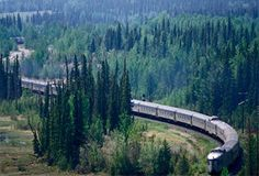 Canada ( a rail trip is 3rd on my bucket list. The all-daylight trps thru the canadian Rockies is my favorite)