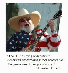 @Charlie Daniels on the FCC #tcot #teaparty #ocra