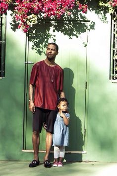 Kid cudi and daughter vada