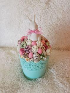 Easter Ideas, Jar, Table Decorations, Spring, Crafts, Handmade, Manualidades, Hand Made, Handmade Crafts