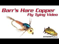 Barr's Hare Copper Fly Tying Video Instructions - YouTube