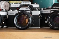 Minolta XD7 XE5 XG2