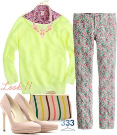 """""""Project 333/Phase7/Spring 2013-Look 11"""" by jcrewchick ❤ liked on Polyvore"""