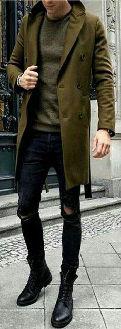 More fashion inspirations for men, menswear and lifestyle - Men's Fashion - New Fashion Trends, Trendy Fashion, Winter Fashion, Fashion Fashion, Fashion Check, Fashion Menswear, Fashion Sale, Fashion Outlet, Paris Fashion