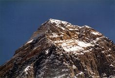 The Top of Everest, 8848m