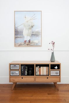 Remember when your stereo came in a beautiful wooden console cabinet? German-Danish designer Gesa Hansen, of The Hansen Family, has designed a two-piece collection for Tivoli Audio that brings the furniture back to your sound system.