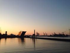 Hamburg harbour in the morning #hamburg #hafen #joggen