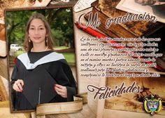 foto tarjeta escolar - recuerdo de graduacion