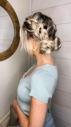 Hairstyles For Summer, Hairstyles For Teens, Simple Hairstyles For Long Hair, Casual Hairstyles For Long Hair, Rainy Day Hairstyles, Concert Hairstyles, Festival Hairstyles, Bun Hairstyles For Long Hair, Holiday Hairstyles