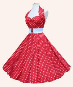 Cute Rockabilly Dress. I love this.
