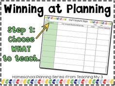 Winning at Planning: Step 1