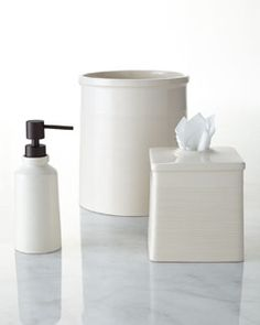 -5H1G Waterworks Studio Earth Vanity Accessories--soap dispenser
