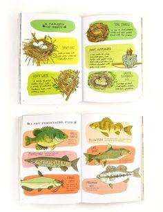 Nature Anatomy by Julia Rothman.