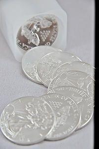 2009 20 Silver American Eagle Coin Roll Sleeve | eBay