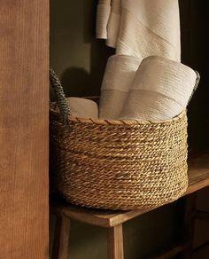 Bathroom Inspiration, Towel, Basket, Interior Design, Home Decor, Image, Photoshoot, Kitchen, Ideas