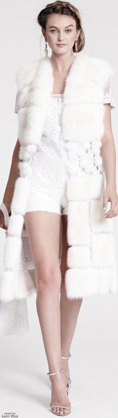 Dennis Basso Resort 2016  • The LOOK BOOK by Babz • ❤️ ✿ιиѕριяαтισи❀  #abbigliamento