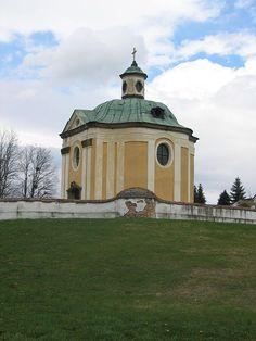 The baroque Inkey chapel in Nagykanizsa