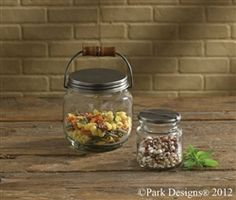 Snap lidded jar for storage or display. $11.50 www.hometraditions.com