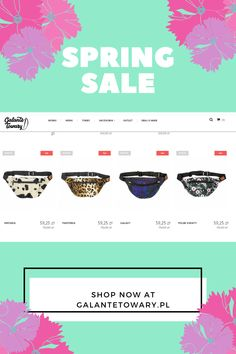 Inviting to the great spring sale. Spring Is Coming, Spring Sale