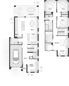 Standard floorplan for The Madden