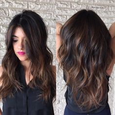 New Hair Color Ideas For Brunettes Babylights Balayage Colour Ideas Subtle Hair Color, Fall Hair Color For Brunettes, Hair Color For Black Hair, Brown Hair Colors, Subtle Ombre, Hair Colour, Balayage Brunette, Brunette Hair, Balayage Hair