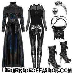 Alternative Outfits, Alternative Fashion, Alternative Style, Edgy Outfits, Cool Outfits, Shoe Tattoos, Grunge, Gothic Glam, Kawaii Goth