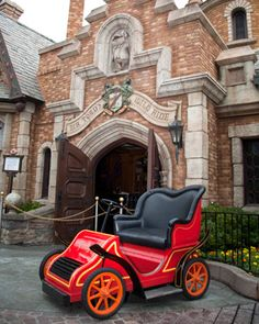 Disney <3...Missing Mr. Toad's Wild Ride, I hate that my kids never rode it. We will soon lose Snow White's Adventure...two very special and memorable rides.