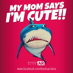 My Mom says I'm cute!! ;-)    www.facebook.com/booksaralive