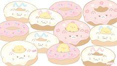 Cute Wallpaper Backgrounds, Computer Wallpaper, Cute Wallpapers, Kawaii Drawings, Cute Drawings, Hello Kitty Iphone Wallpaper, Small Kittens, Kawaii Cat, Kawaii Stuff