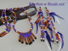 Rhythm-n-Beads® by Deborahlynn by RhythmnBeads Horse Necklace, Beaded Necklace, Necklaces, Horsehair, Happy Trails, Saddle Bags, Jewelry Crafts, Feathers, Tassels