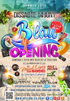 Opening Disco Blau