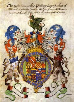 Coat of arms of Philip Herbert (1584-1650), 4th Earl of Pembroke (E 1551) and 1st Earl of Montgomery (E 1605).
