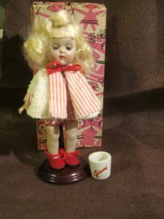 Vintage 1955 Vogue Walking Ginny Doll with Fun by Sisters2Vintage