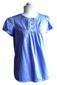 Blue Gap Baby Doll Top $26