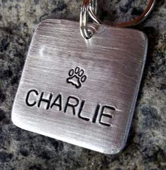 Simplicity ID Tag for Pets   by FetchAPassionTags, $8.00