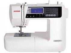 Máquina de Costura Janome 4120QDC Eletrônica - com Mesa Extensora e 120 Tipos de Ponto