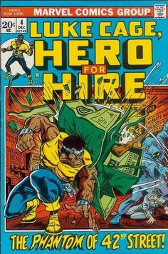 Hero for Hire # 4 by Billy Graham