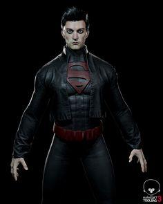 ArtStation - Dark Superman , Angel Axiotis