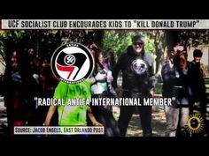 """College Socialist Group Incites Children to Chant: 'Kill Donald Trump' If that line had instead been """"Kill Barack Obama,"""" the Secret Service would've swooped so fast heads would still be spinning."""