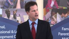 Deputy Prime Minister Nick Clegg visited Southfields Community College in South West London on the first day of the new term and gave a speech on Education. Speech On Education, Nick Clegg, West London, Community College, New Day, Politics, Brand New Day, College