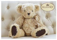 Our cute 'Suzie' hand-made bear Weighted Blanket, Teddy Bear, Toys, Cute, Handmade, Animals, Accessories, Animales, Hand Made
